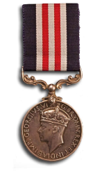 L/Cpl John Fisher was awarded a Military Medal for his actions at Dieppe.